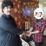 クウェート人シナリオライターのOtaibiさんと日本人漫画家のエリス120%さん