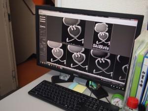 3Dレーザー彫刻用データ