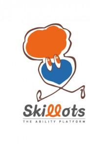 スキロッツのロゴとキャラクター