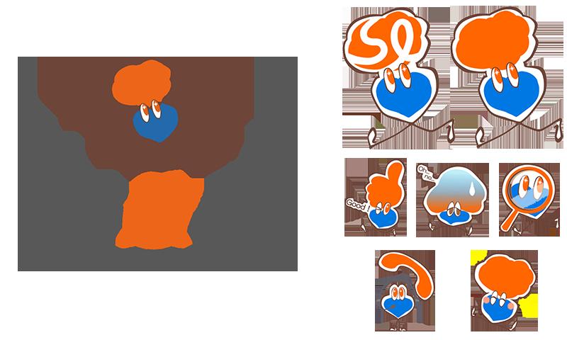 Skillotsのロゴとキャラクター